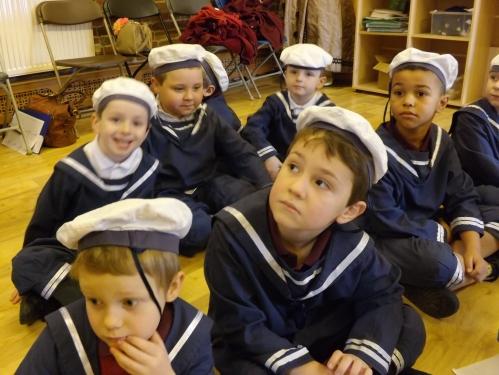 Class 4 Boys In Their Victorian School Uniform